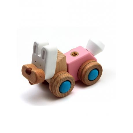 Деревянный конструктор EQB - Кролик