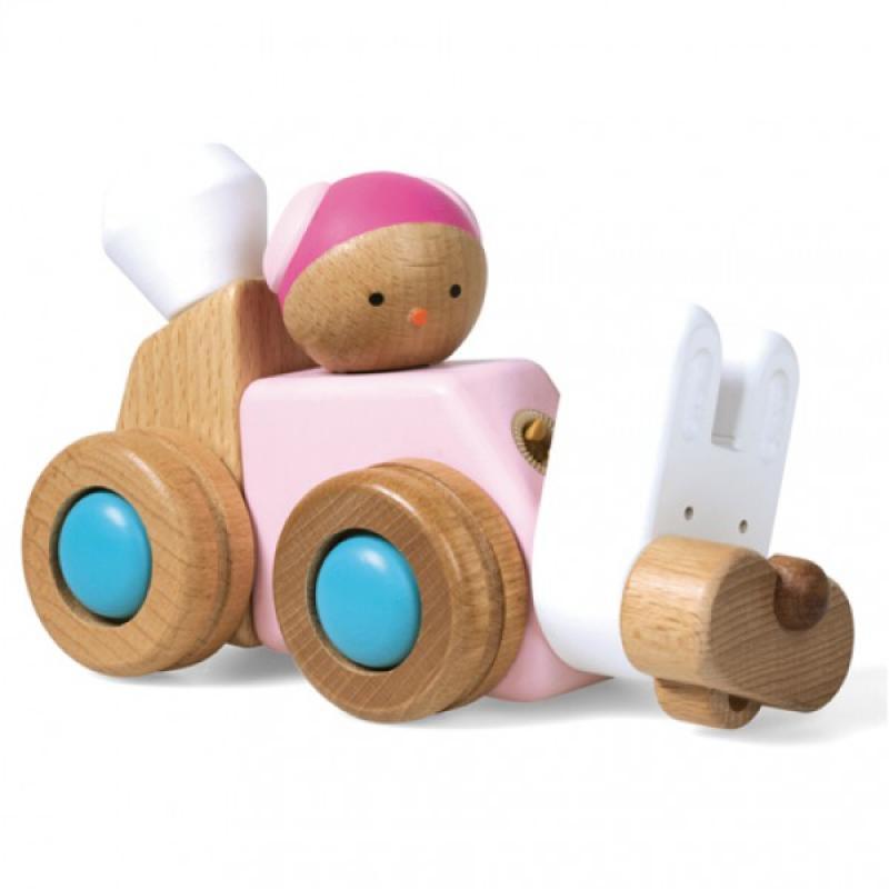 Деревянный конструктор EQB - Кролик фото