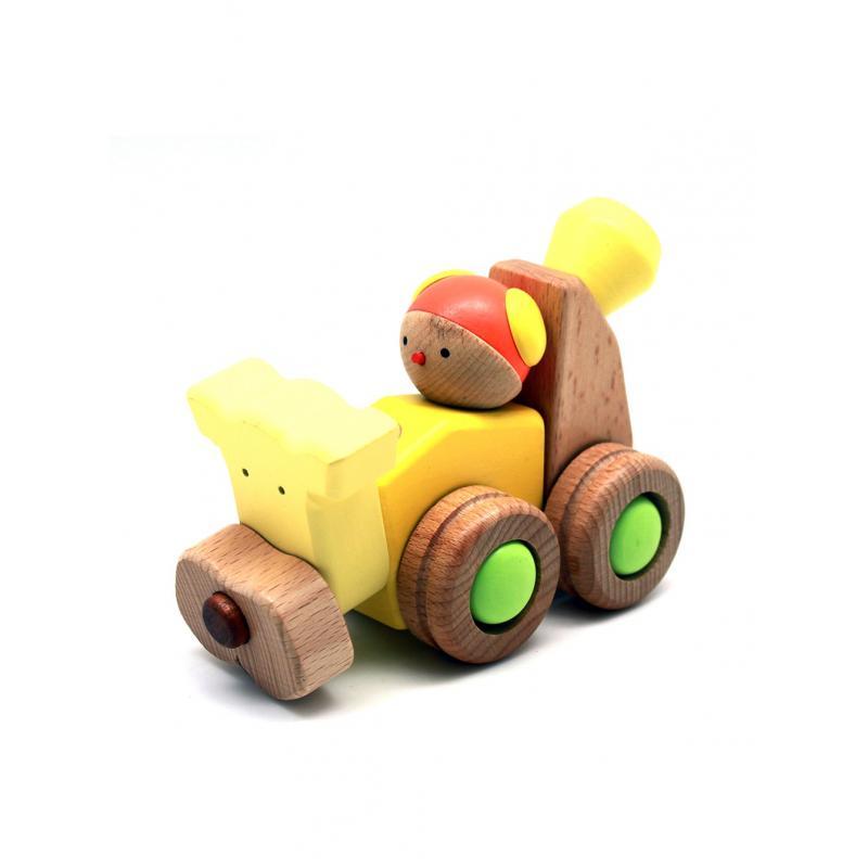 Деревянный конструктор EQB - Щенок фото