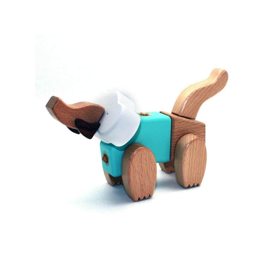 Деревянный конструктор EQB - Слон