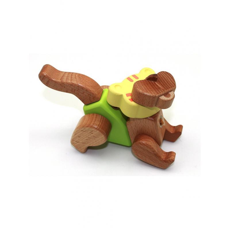 Деревянный конструктор EQB - Тигр фото