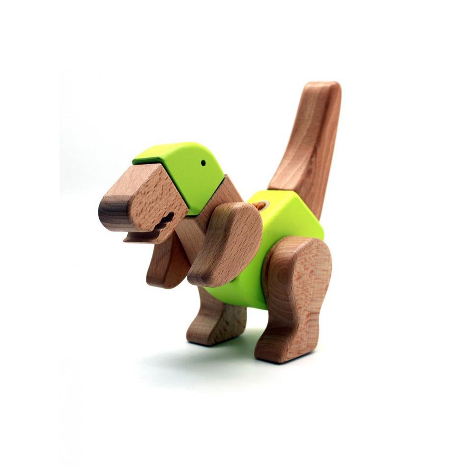Деревянный конструктор EQB - Тиранозавр