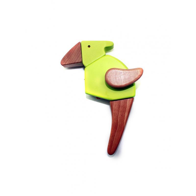 Деревянный конструктор EQB - Тиранозавр фото