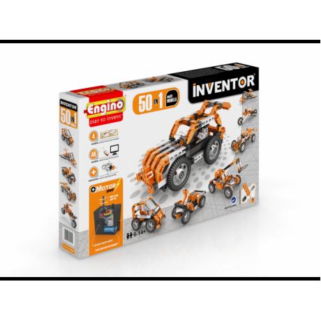 Конструктор Engino Inventor - Набор из 50 моделей с мотором