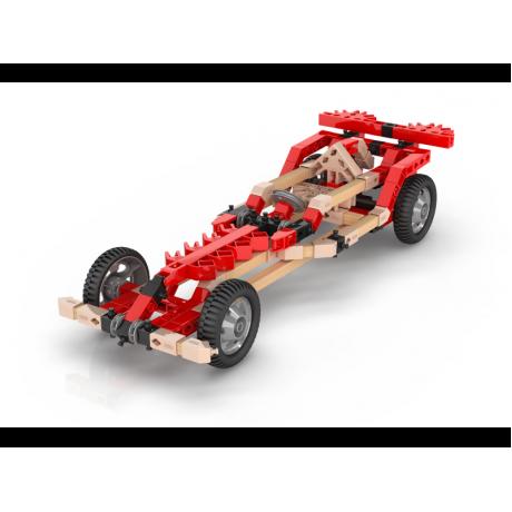 Конструктор Engino Eco Builds - Гоночные машины с мотором