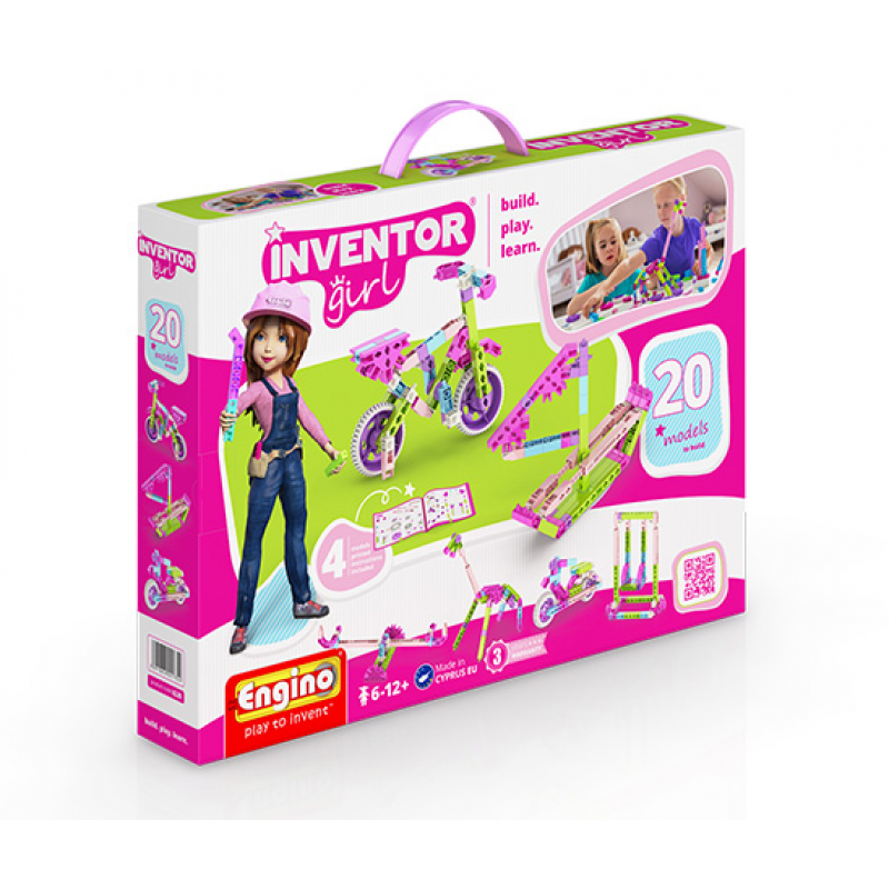 Конструктор Engino Inventor Girls 20 фото