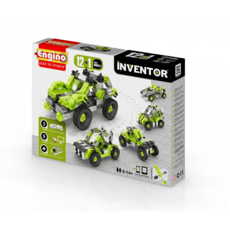 Конструктор Engino Inventor - Автомобили - 12 моделей фото