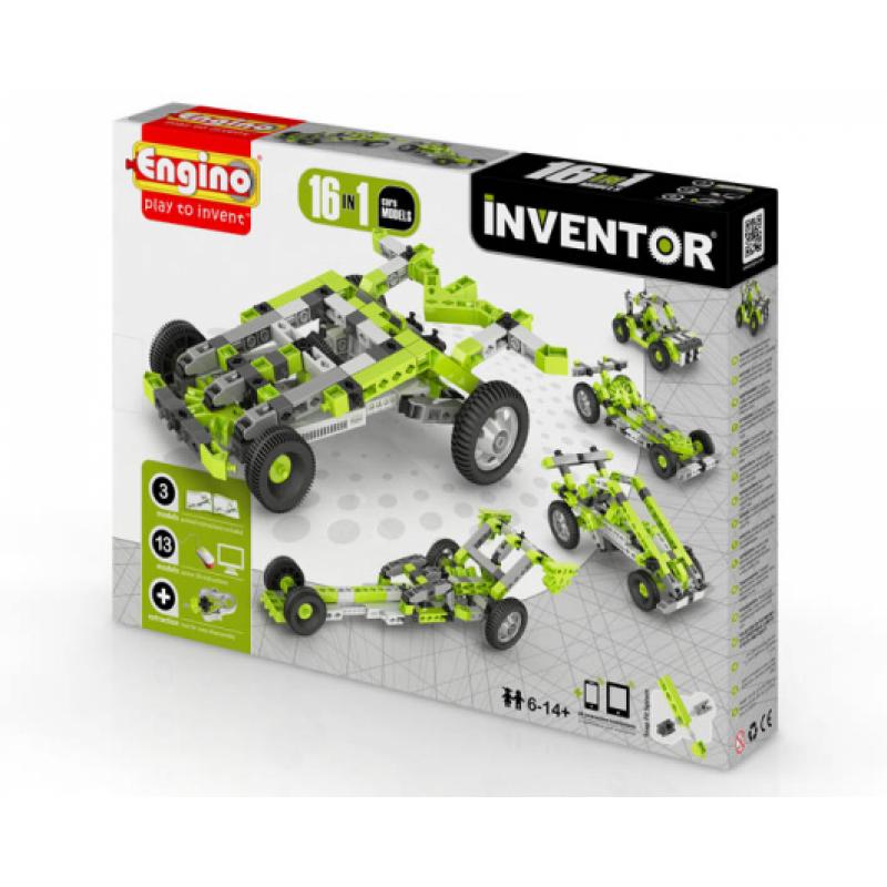 Конструктор Engino Inventor - Автомобили - 16 моделей фото