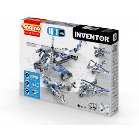 Конструктор Engino Inventor - Самолеты - 16 моделей