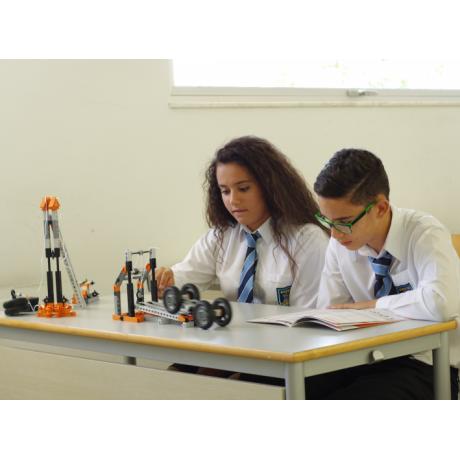Конструктор Engino Discovering Stem - Механика: колеса, оси и наклонные плоскости