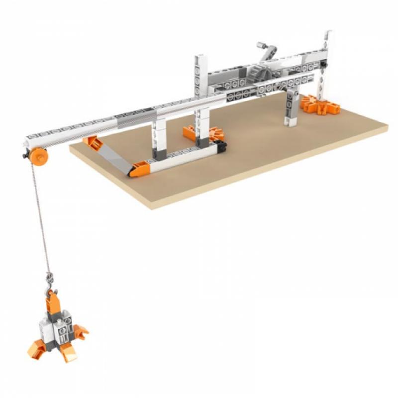 Конструктор Engino Discovering Stem - Механика: шестерни и червячные передачи фото