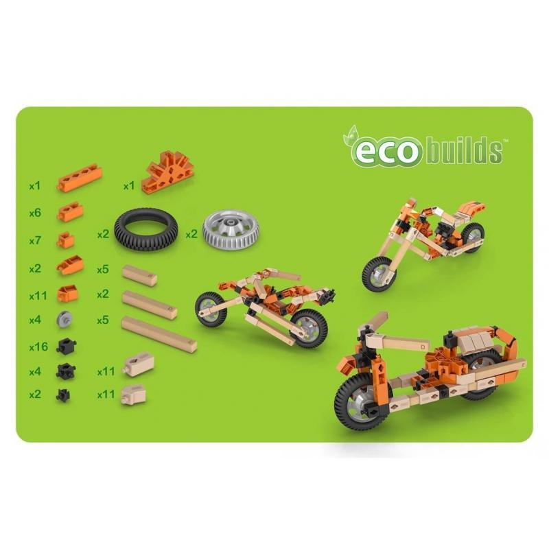 Конструктор Engino Eco Builds - Мотоциклы фотографии