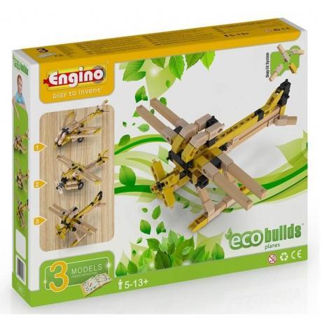 Конструктор Engino Eco Builds - Самолеты