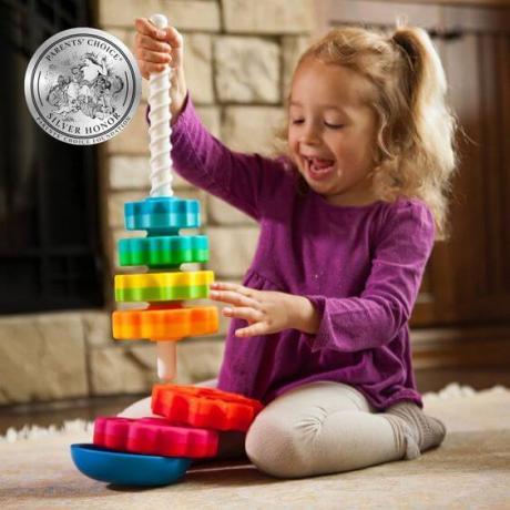 Вращающаяся пирамидка Fat Brain Toys - SpinAgain