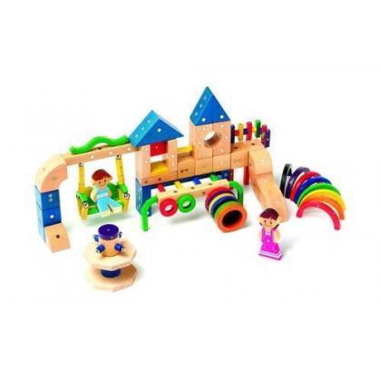 Магнитный конструктор Genii Creation - Детская площадка