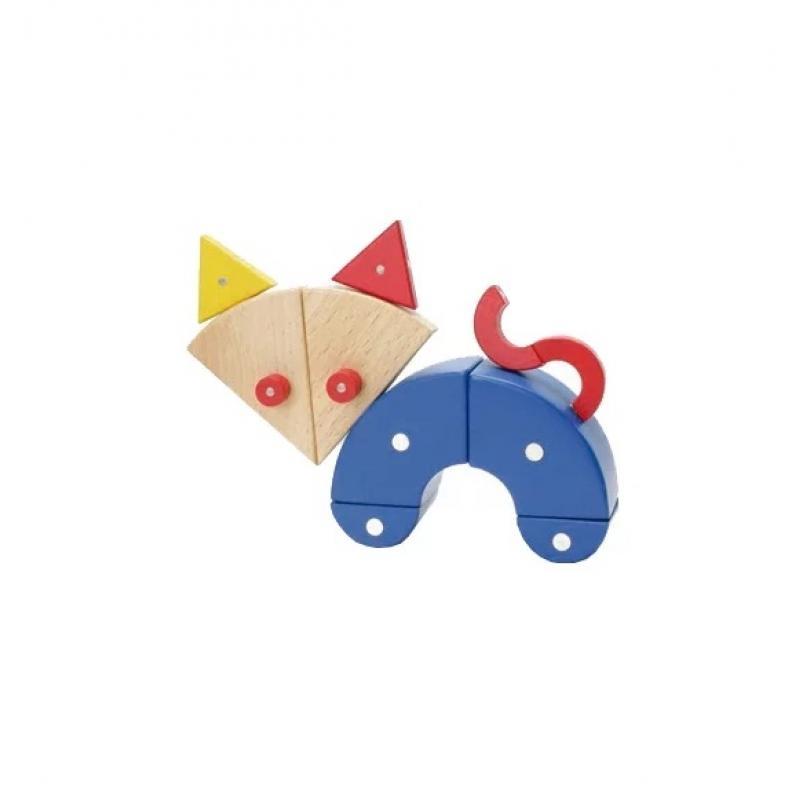 Магнитный конструктор Genii Creation - Животные, мини фото