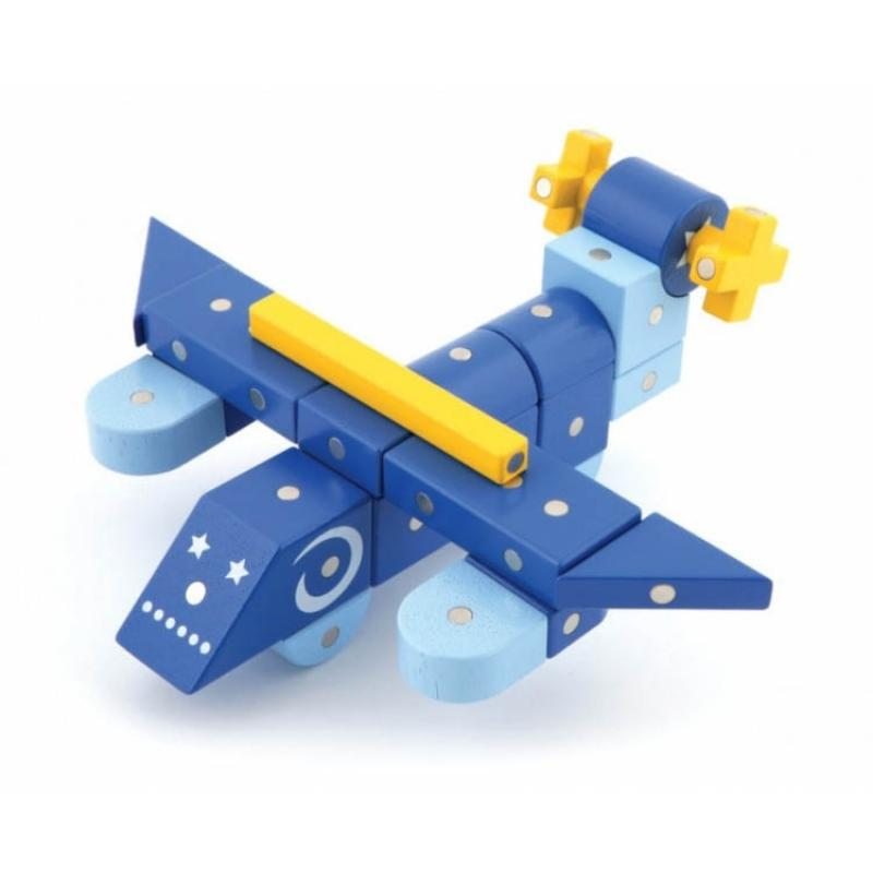 Магнитный конструктор Genii Creation - Самолёт фото