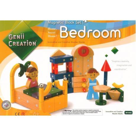 Магнитный конструктор Genii Creation - Спальня