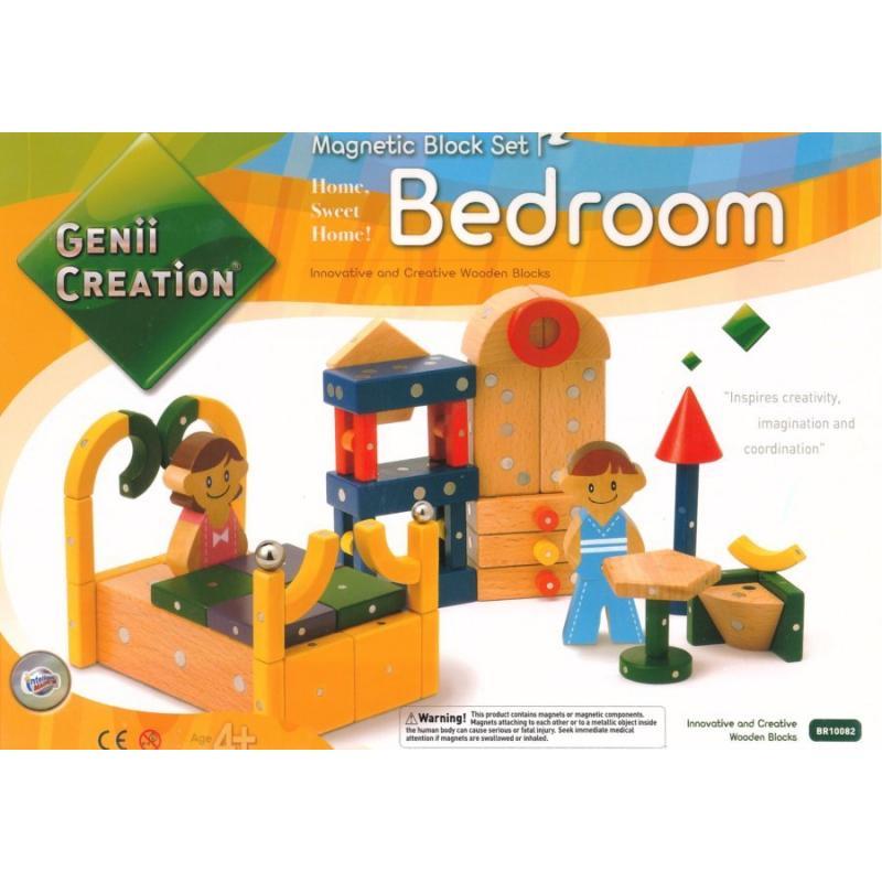 Магнитный конструктор Genii Creation - Спальня фото