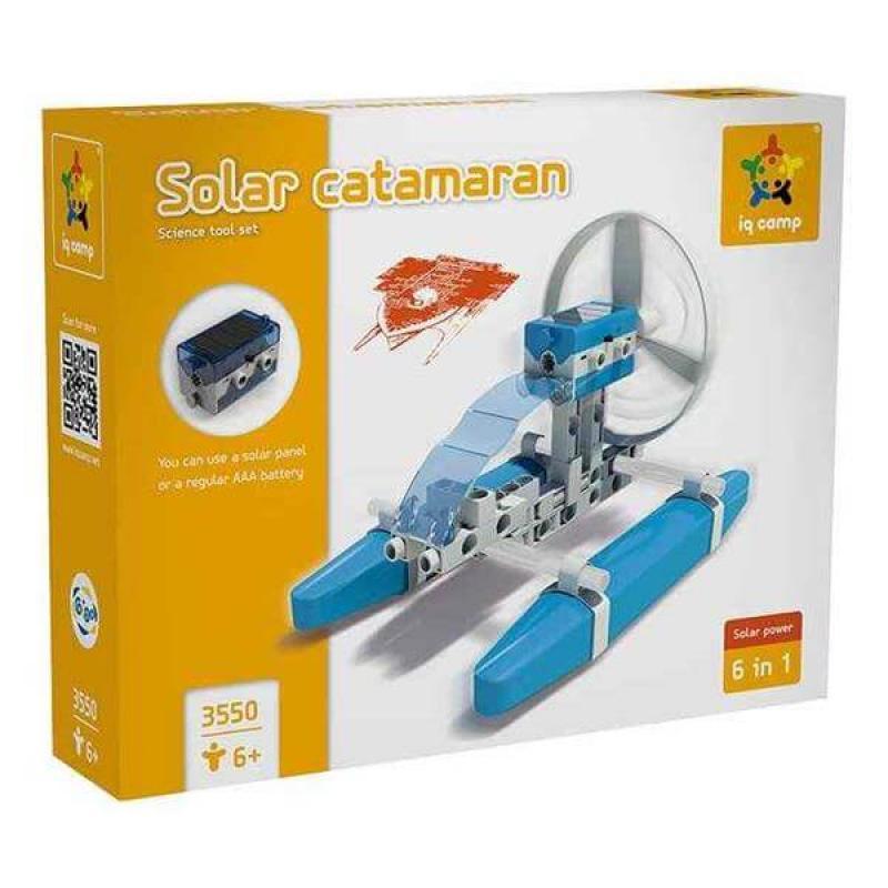 Конструктор Gigo Катамаран на солнечной энергии фото