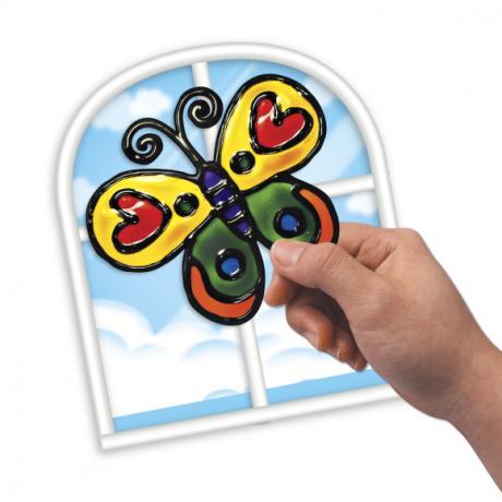 Игровой набор для рисования витражей Glass Magic Наклейки
