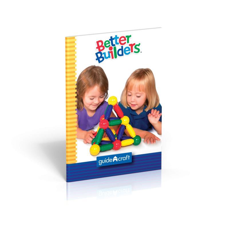 Магнитный конструктор GuideCraft Better Builders® 60 фото