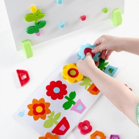 Сортер магнитный GuideCraft Цветы в горшках