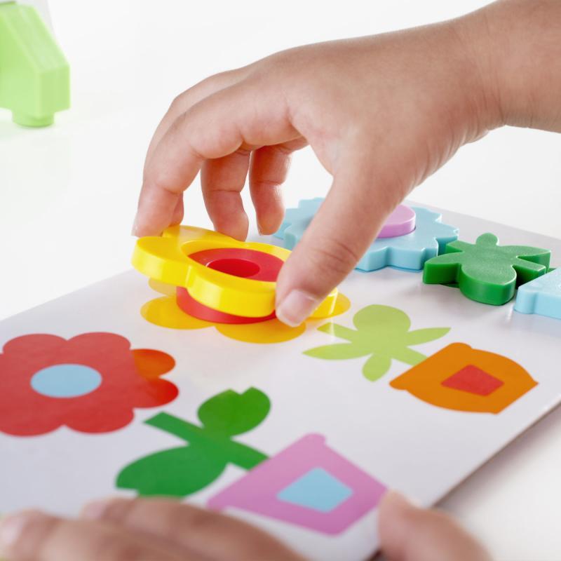 Сортер магнитный GuideCraft Цветы в горшках фото