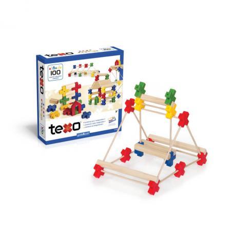 Деревянный конструктор GuideCraft Texo® 100