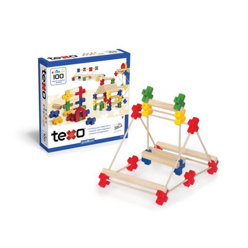 Деревянный конструктор GuideCraft Texo® 100 фото