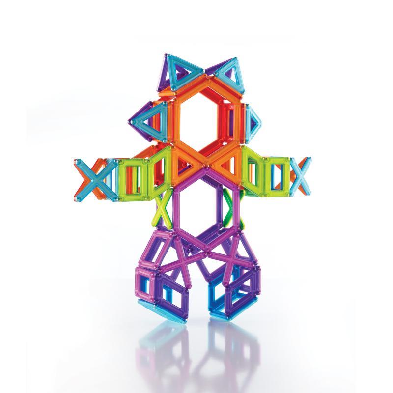 Магнитный конструктор GuideCraft PowerClix® - Frames 100 фото