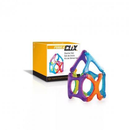 Магнитный конструктор GuideCraft PowerClix® - Organics 6