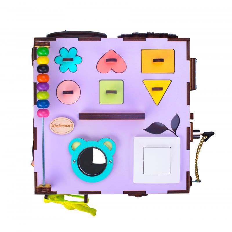 Бизикуб MAXI цветной фото
