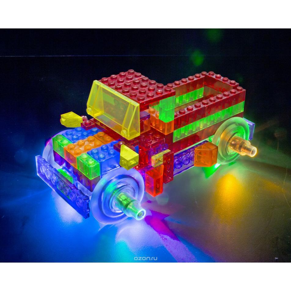 Светящийся конструктор Laser Pegs - Энергоблок Грузовик 8 в 1