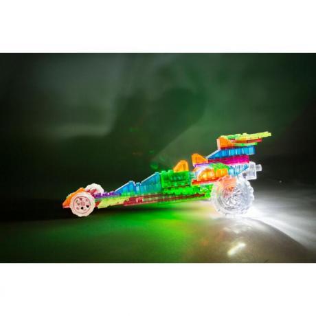 Светящийся конструктор Laser Pegs - Гонка 6 в 1