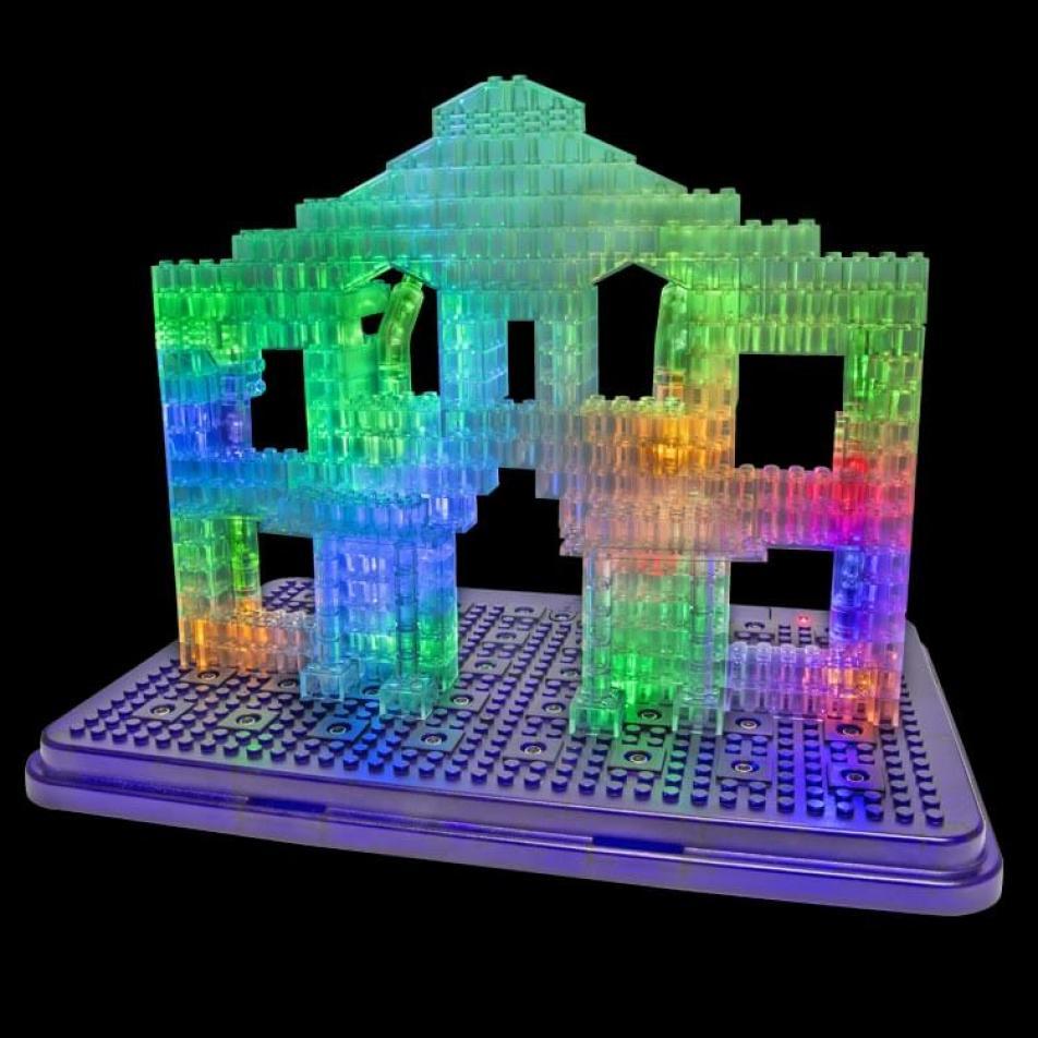 Светящийся конструктор Laser Pegs - Археология 30 в 1