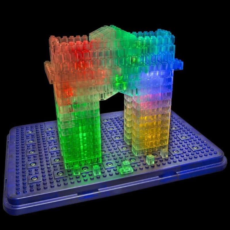 Светящийся конструктор Laser Pegs - Археология 30 в 1 фото