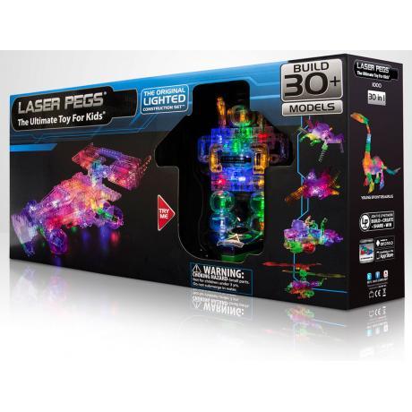 Светящийся конструктор Laser Pegs - Болид 30 в 1