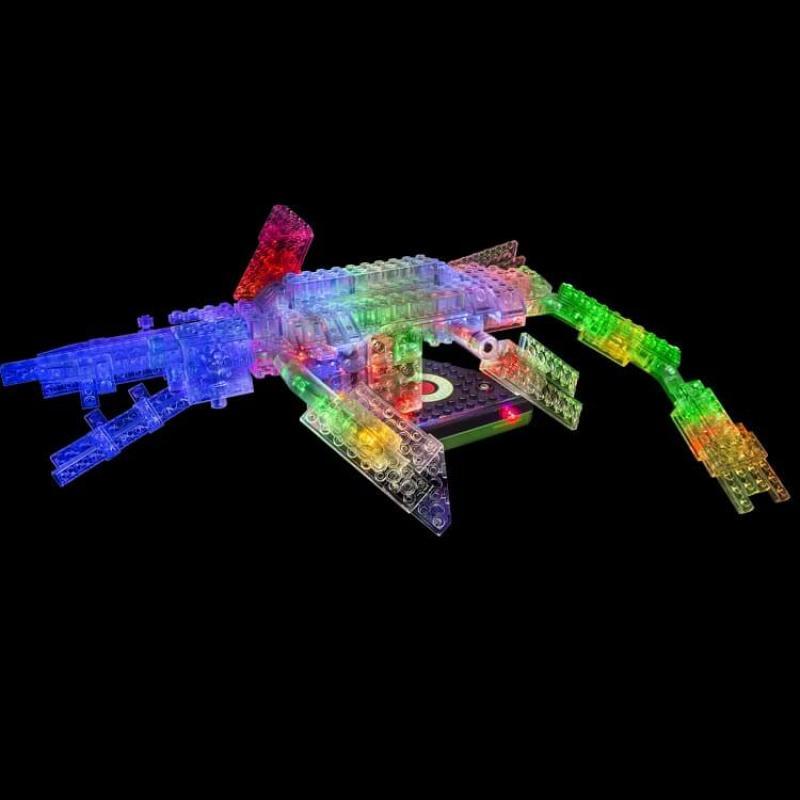 Светящийся конструктор Laser Pegs - Динозавры 24 в 1 фото
