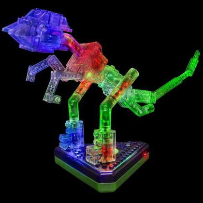 Светящийся конструктор Laser Pegs - Динозавры 24 в 1