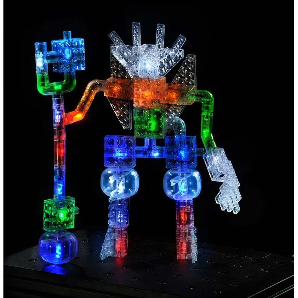 Светящийся конструктор Laser Pegs - Дракон 57 в 1