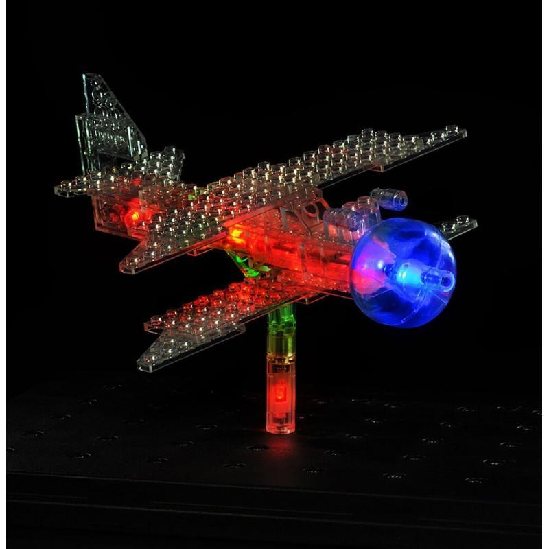 Светящийся конструктор Laser Pegs - Дракон 57 в 1 фото