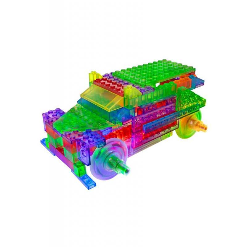 Светящийся конструктор Laser Pegs - Энергоблок Грузовик 8 в 1 фото