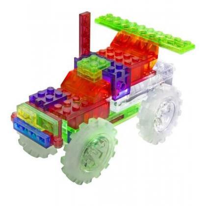 Светящийся конструктор Laser Pegs - Гигантcкий грузовик 6 в 1