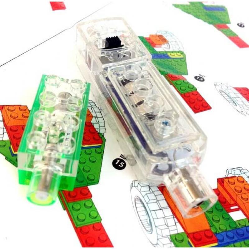 Светящийся конструктор Laser Pegs - Гонка 6 в 1 фото
