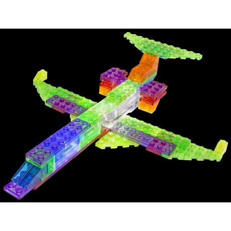 Светящийся конструктор Laser Pegs - Самолёт 6 в 1