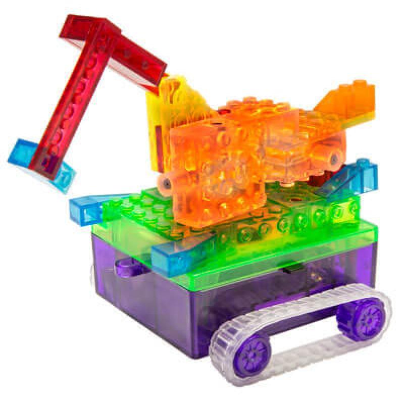 Светящийся конструктор Laser Pegs - Танк 8 в 1 фото