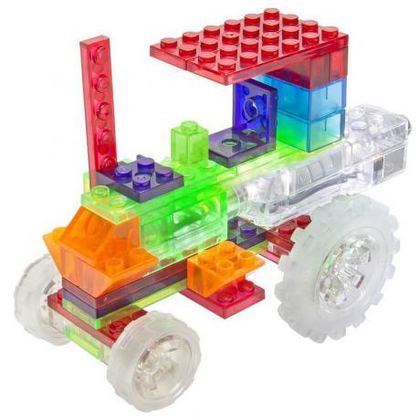 Светящийся конструктор Laser Pegs - Трактор 6 в 1