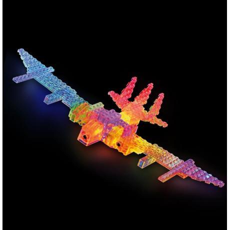 Светящийся конструктор Laser Pegs - Воздушный транспорт 6 в 1