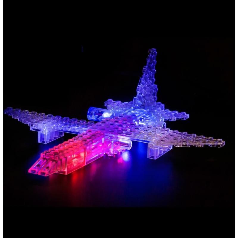 Светящийся конструктор Laser Pegs - Воздушный транспорт 6 в 1 фото